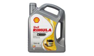 Olje Shell Rimula R4 X 15W40 5L