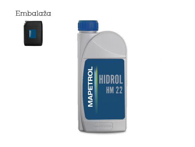 Olje Mapetrol Hidrol Hm 22 10L