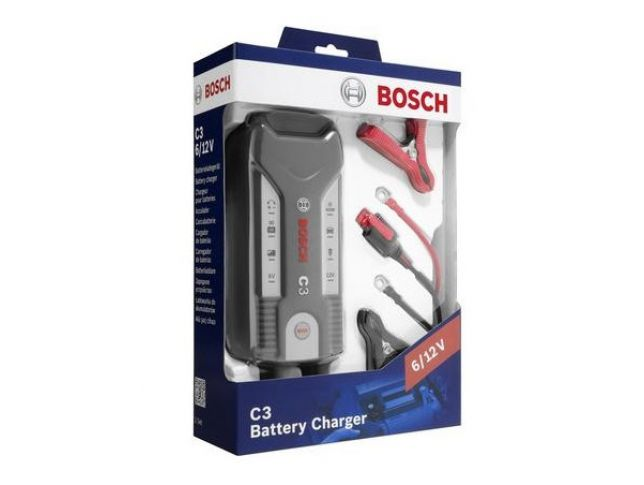 Bosch - Polnilec In Vzdrževalec Akumulatorjev C3 6V/12V