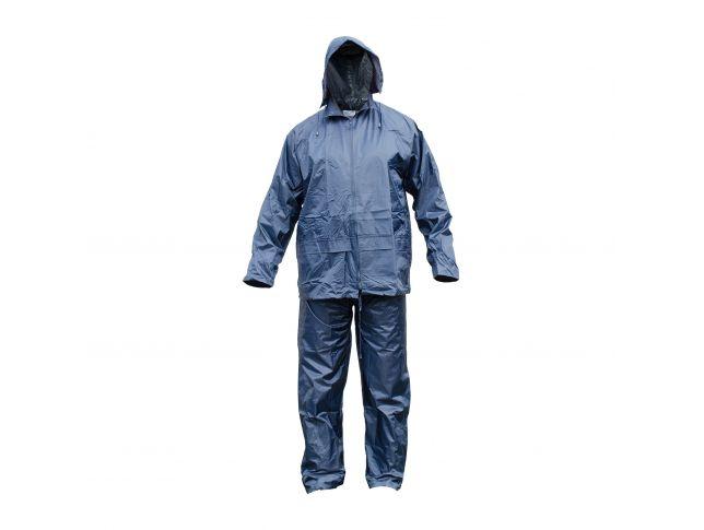 Dežna Obleka Salva Modra Xl
