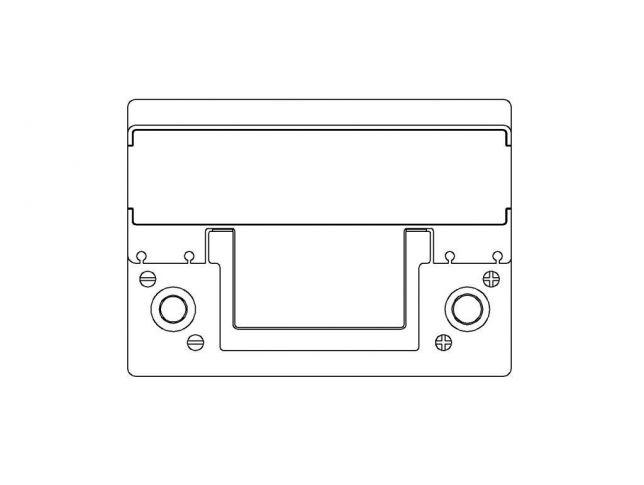 Akumulator Autopart Galaxy 12V 72Ah EFB