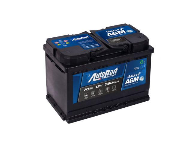 Akumulator Autopart Galaxy AGM 12V 70Ah