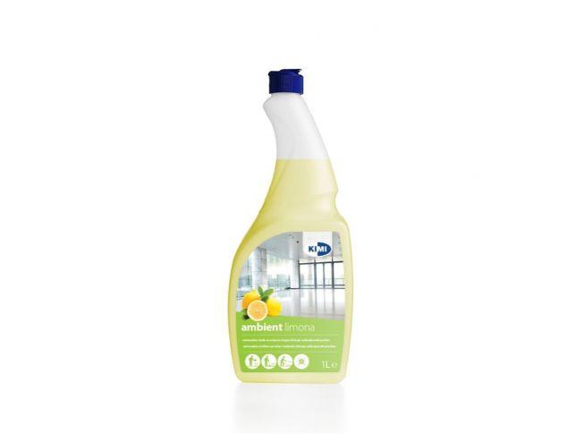 Čistilo uni. ambient limona 1l kimi