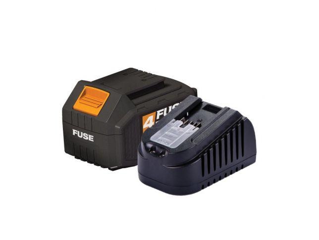 Fuse set akumulator 3.0Ah + polnilnik 1.65A