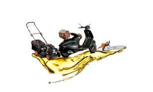 Olja za kosilnice, žage in motorna kolesa