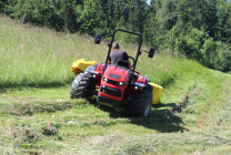 MOWING ON MOUNTAIN FARMS