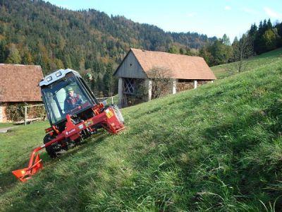 Gorska košnja z AGT 850 gorska verzija