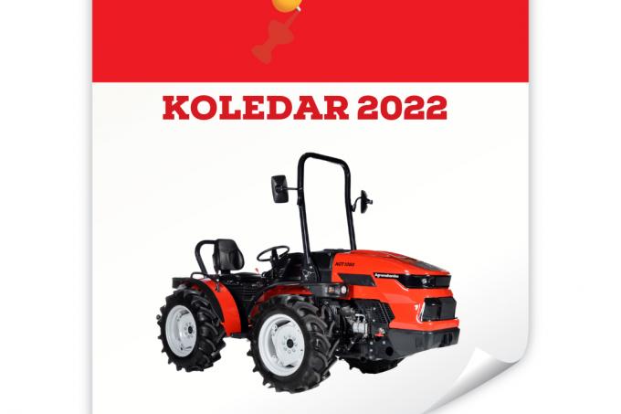 Soustvarite koledar Agromehanike za leto 2022