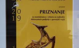 Agromehanika nominirana za Gazelo gorenjske