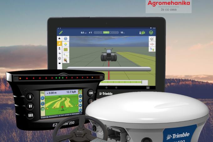 Traktorski avtopilot - Navigacijski sistem Trimble