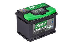 Akumulator Autopart Galaxy 12V 62Ah Efb
