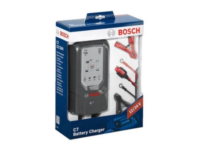 Bosch - Polnilec In Vzdrževalec Akumulatorjev C7 12V/24V