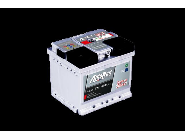 Akumulator Autopart Galaxy Silver 12V 45Ah