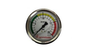 Manometer fi 100 - Priklop zadaj (0-8-15-20)