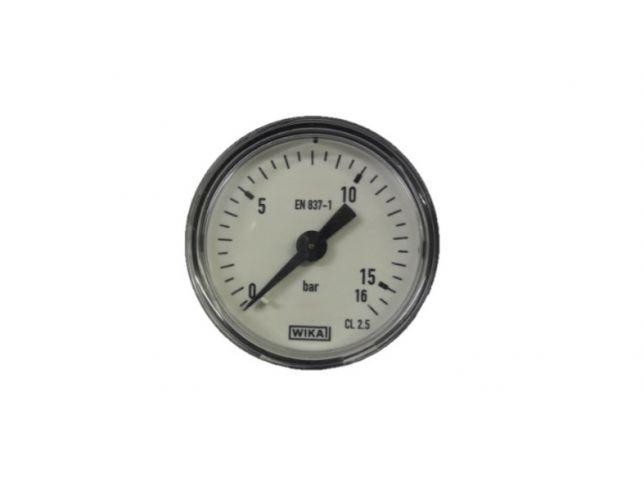 Manometer fi 40 - Priklop zadaj (0-16)