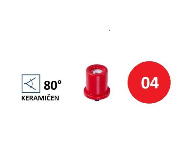 TR-C 80-04 RDEČ (KERAMIČEN)