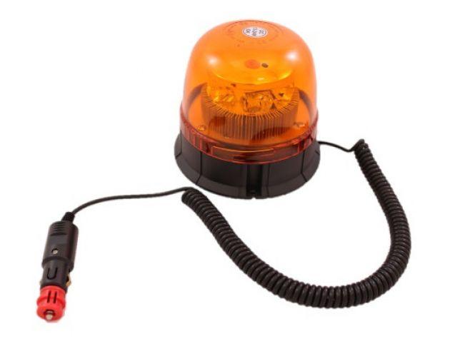 Luč Rotacijska Led Boxmind (12V/24V) - Magnetna