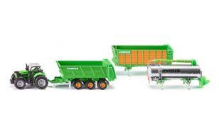 Traktor Deutz Fahr Agrotron s priključki Joskin