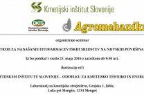 Seminar na Kmetijskem inštitutu