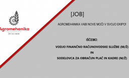 Agromehanika zaposluje